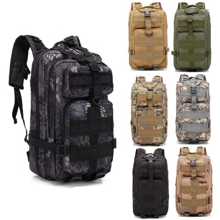 Ktaxon 30L Military Tactical Backpack Large Assault Pack, 3 Day Army Molle Rucksacks Shoulders Bag, Outdoors Hiking Daypack, with Adjustable Wide Strap