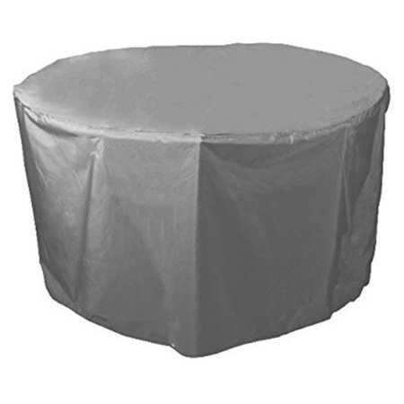 Bosmere Waterproof Grey Outdoor 40 In Round Table Cover