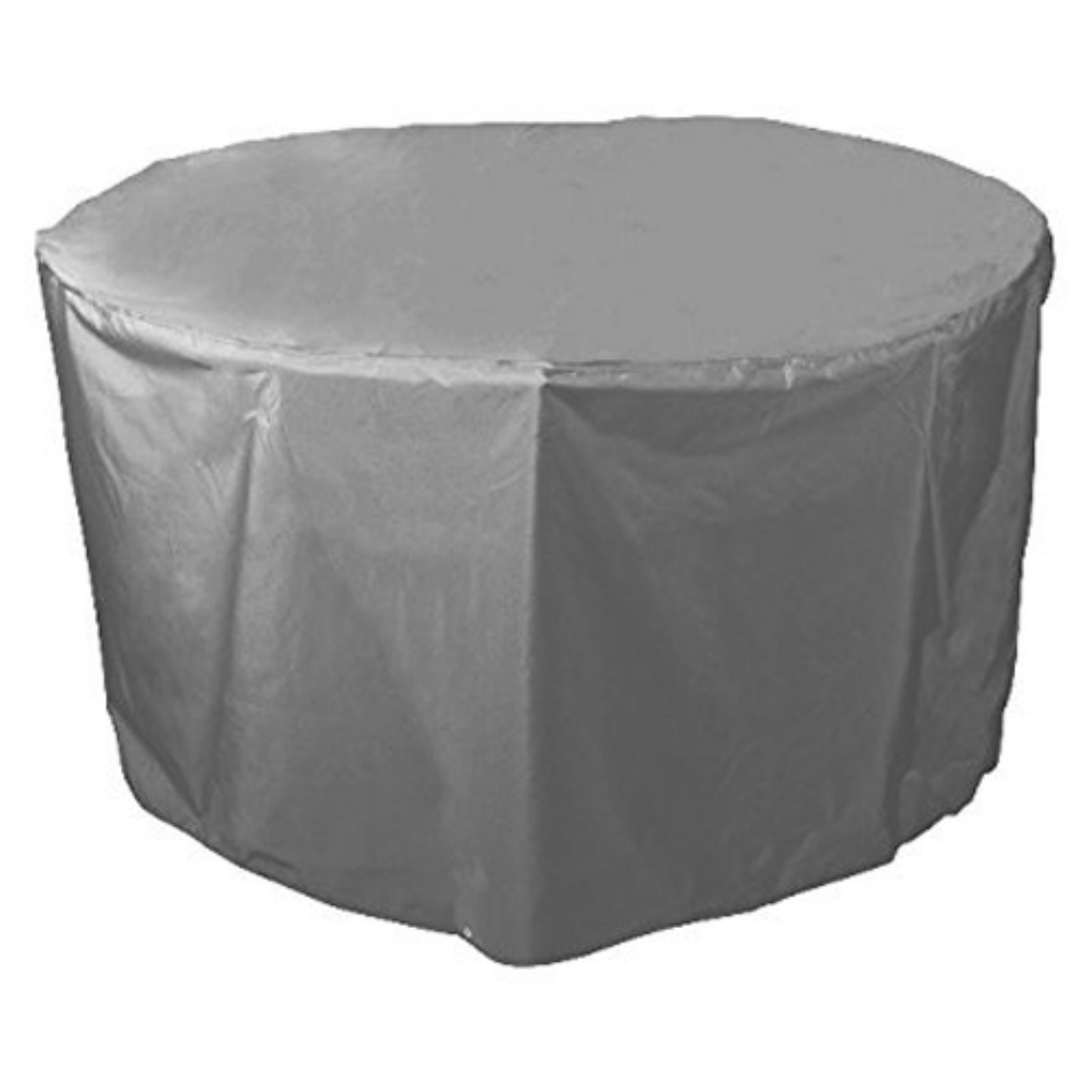 Bosmere Waterproof Grey Outdoor 40 in. Round Table Cover - 40W x 28H in.
