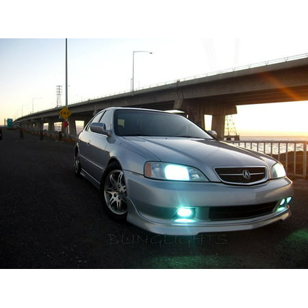 1999 2000 2001 Acura TL Fog Lamps Driving Lights Kit Xenon Foglights