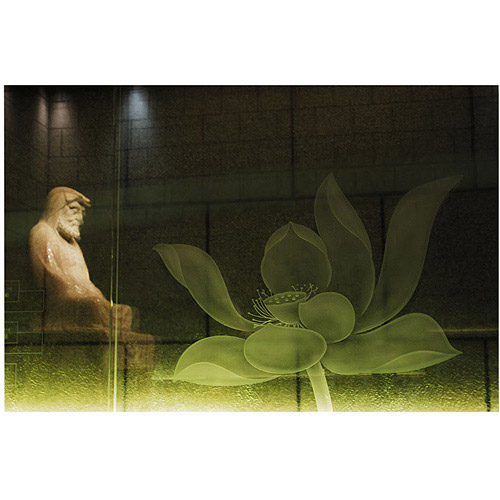 "Trademark Art ""Lotus Buddha"" Canvas Art by Kurt Shaffer, 20x30"