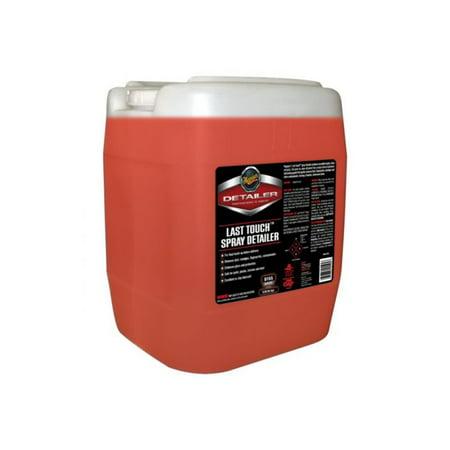 Meguiar's D155 Detailer 5 Gallon Multisurface Last Touch Spray Car Detailer