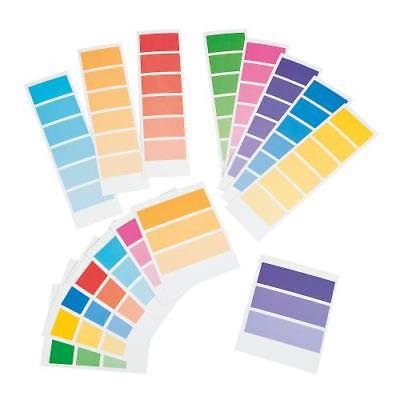 Paint Chip Supply Strips By Fun Express