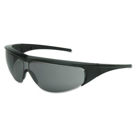 Honeywell Uvex Millennia Eyewear, TSR Gray Lens, Polycarbonate, Ultra-dura, Black Frame