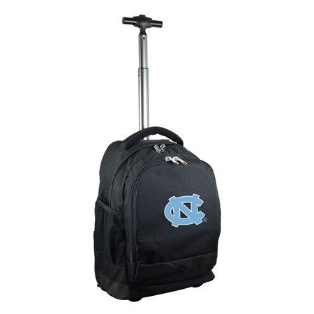 North Carolina Tar Heels 19'' Premium Wheeled Backpack - Black - No Size (North Face Backpack Gray)