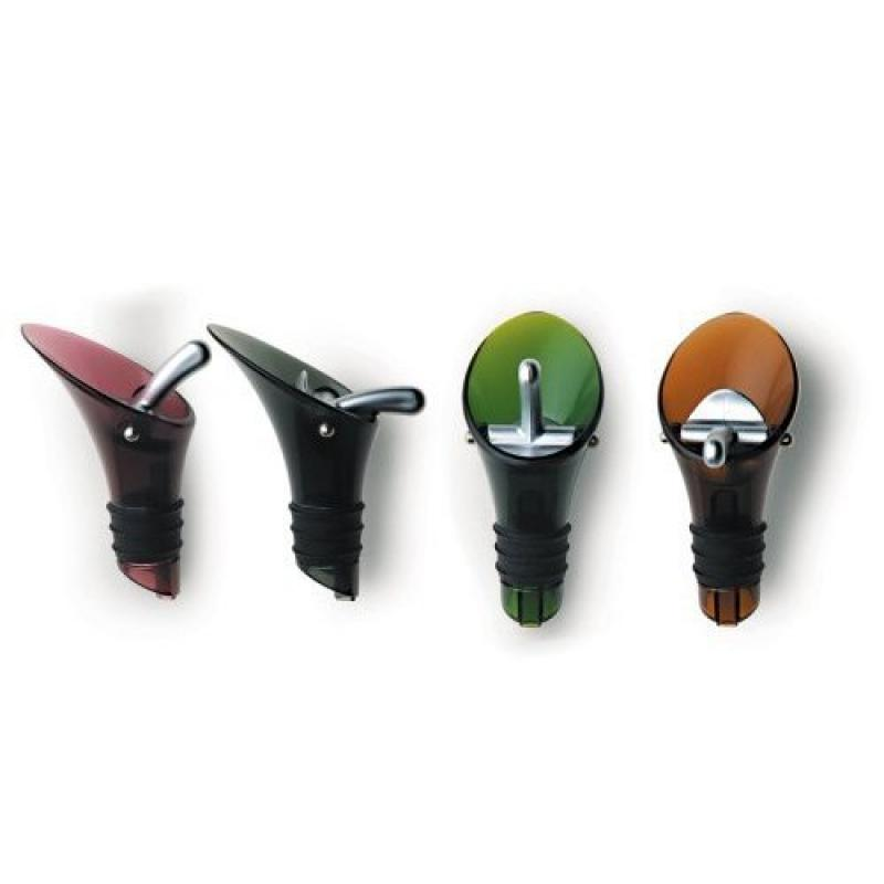 Mastrad Wine Pourer/Stopper, Color May Vary