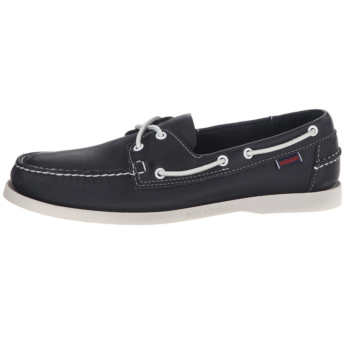 Sebago Docksides Womens Navy Boat Shoes by Sebago