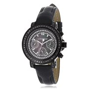 Watches: 2.15 carats Black Diamond Watch for Women