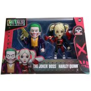 """Metals Suicide Squad 4"""" DC Figure Twin Pack, Joker and Harley Quinn"""
