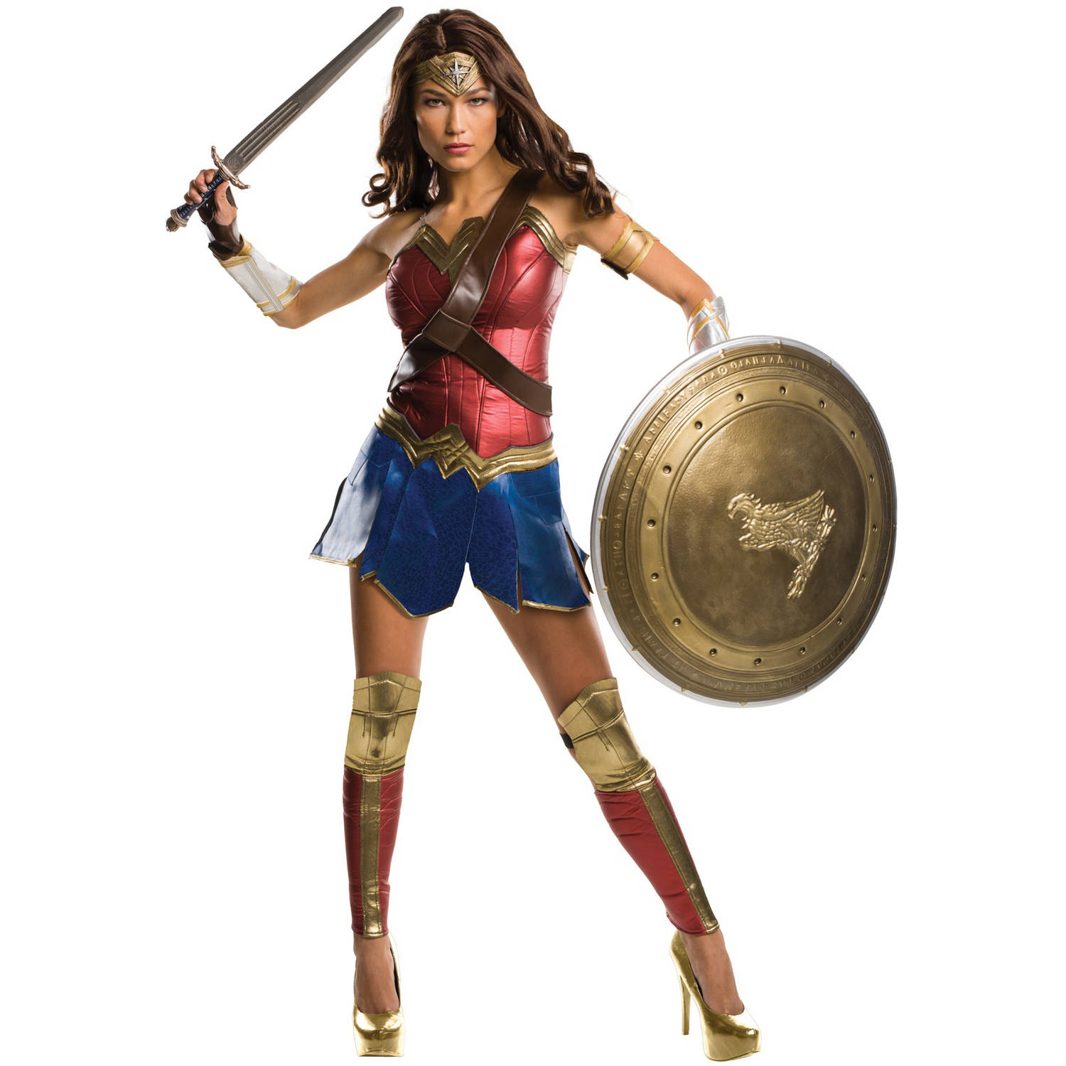 Batman v Superman: Dawn of Justice - Wonder Woman Grand Heritage Women's Adult Halloween Costume