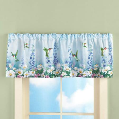 Tksherlock Hummingbird Flowers Spring Floral Blue Kitchen