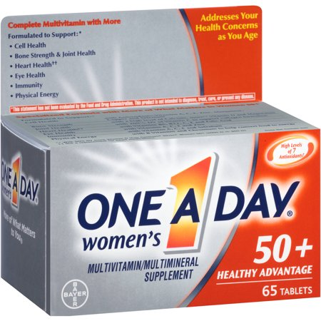 One A Day femmes 50+ Advantage santé multivitamines comprimés - 65 CT