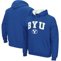 BYU Cougars Stadium Athletic Arch & Logo Tackle Twill Pullover Hoodie - Royal