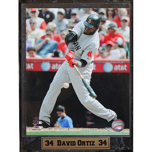 MLB David Ortiz Photo Plaque, 9x12