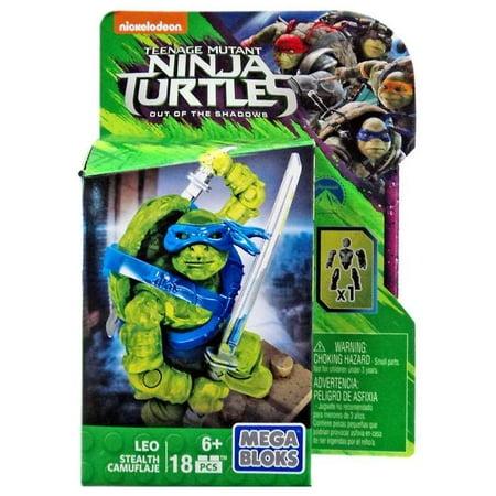 Leo Set Mega Bloks DPW13 Stealth Teenage Mutant Ninja -