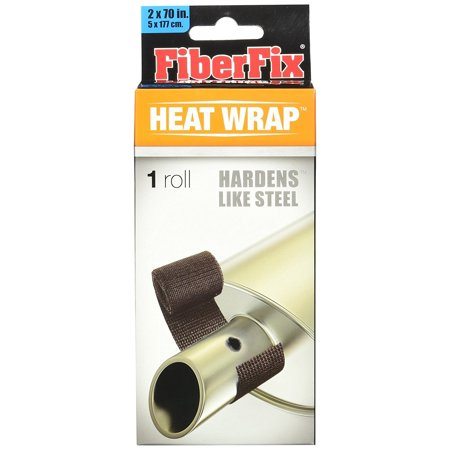 Heat Wrap- For Exhaust Pipes and High Temp Repairs, 100X STRONGER THAN DUCT TAPE: Fiber Fix Heat Wrap is the solution to all your high-temperature.., By FiberFix (Fiber Fix Tape)