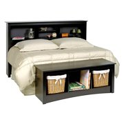Double/Queen Headboard & Bed End Storage Bench