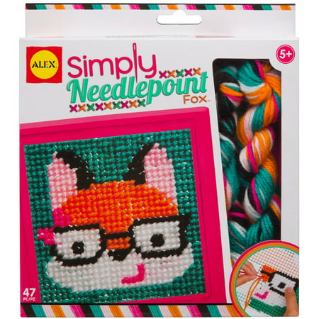 ALEX Toys Craft Simply Needlepoint -