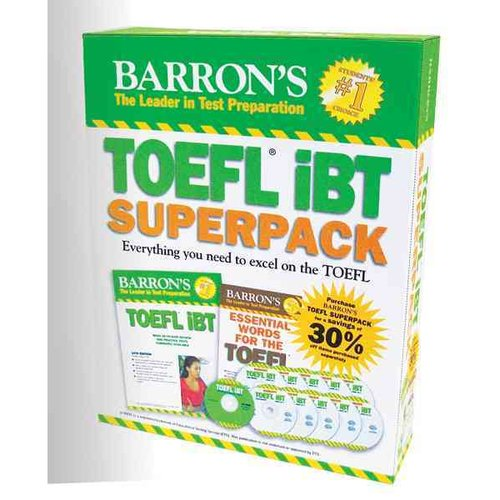Barron's TOEFL IBT Superpack: Everything You Need to Excel on the Toefl