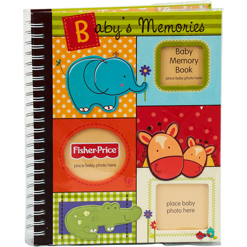 Fisher-Price - Luv U Zoo Memory Book