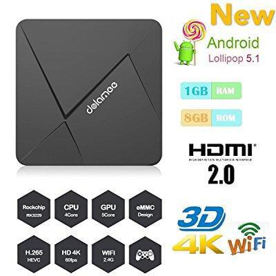 hongyu [new series] d5 android tv box 1gb /8gb rockchip rk3229 quad