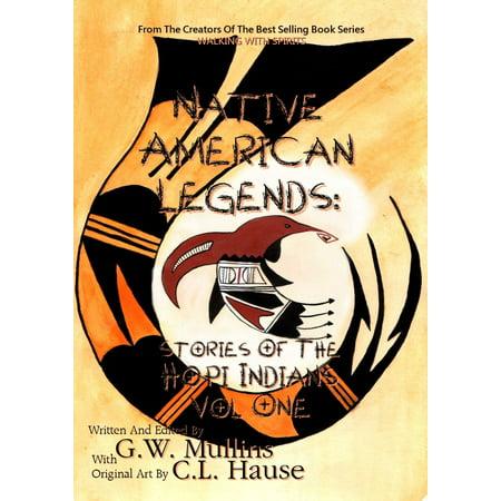 Native American Legends: Stories Of The Hopi Indians Vol One - eBook Hopi Indian Designs