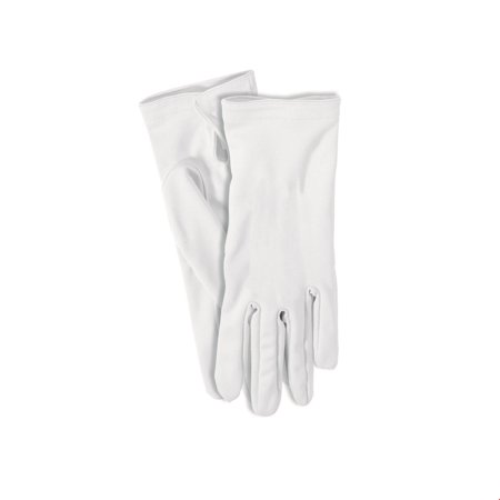 White Short Gloves Halloween Costume Accessory (Halloween Short Quotes)