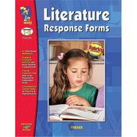 On The Mark Press OTM1851 Literature Response Forms Gr. 1-3