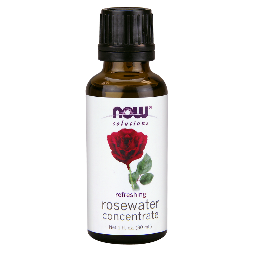 NOW Foods - Rosewater Concentrate - 1 oz.