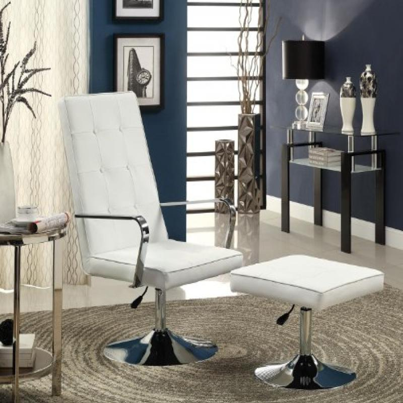 Coaster Furniture Casual Chair-White