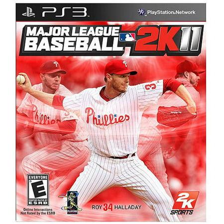 Major League Baseball 2K11  Ps3    Pre Owned