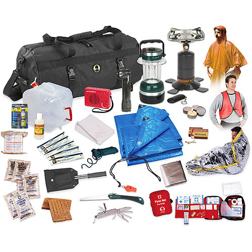 Stansport Hurricane/Earthquake/Flood Emergency Preparedness Kit, 50-Piece