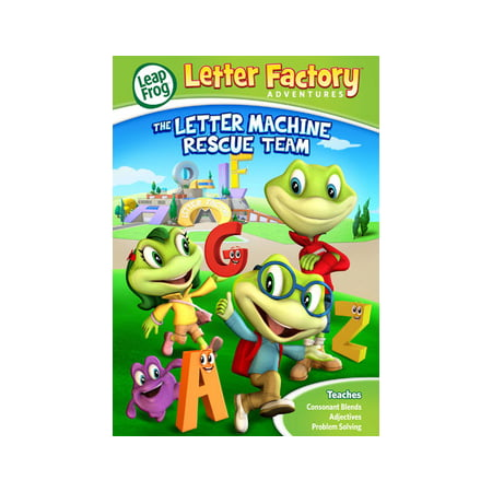 Leapfrog A Tad Of Christmas Cheer Dvd.Leapfrog Letter Factory Adventures Letter Machine Rescue