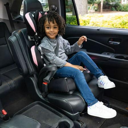 Disney Baby Pronto Belt-Positioning Booster Car Seat, Peeking Minnie