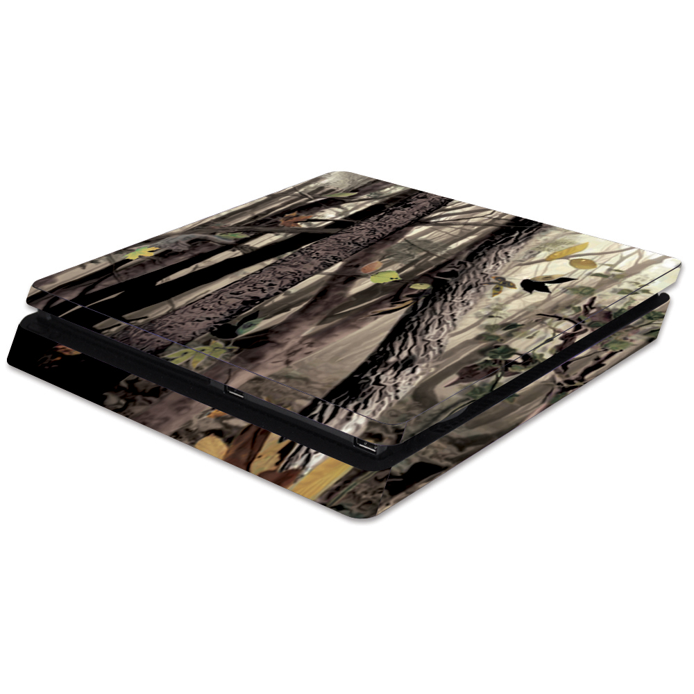 80d597b7fadbe Skin Decal Wrap for Sony PlayStation 4 Slim PS4 Tree Camo