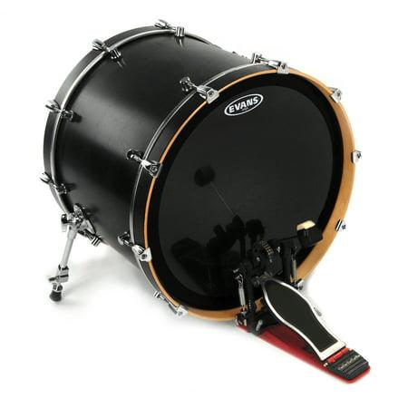 Evans EMAD Onyx Bass Drum Head, 22 Inch - Gretsch Jazz Bass Drum