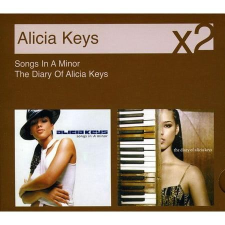 Songs In A Minor/The Diary Of Alicia Keys [2 Discs][Slim Pack] (CD)](Alicia Keys Halloween)