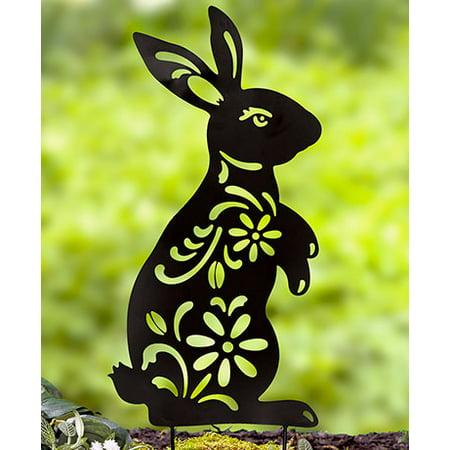 Animal Silhouette Stake , Bunny](Bunny Silhouette)