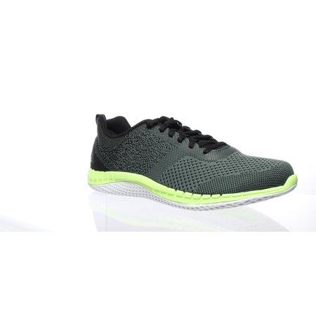 Reebok Mens Print Prime Ultk Green Running Shoes Size