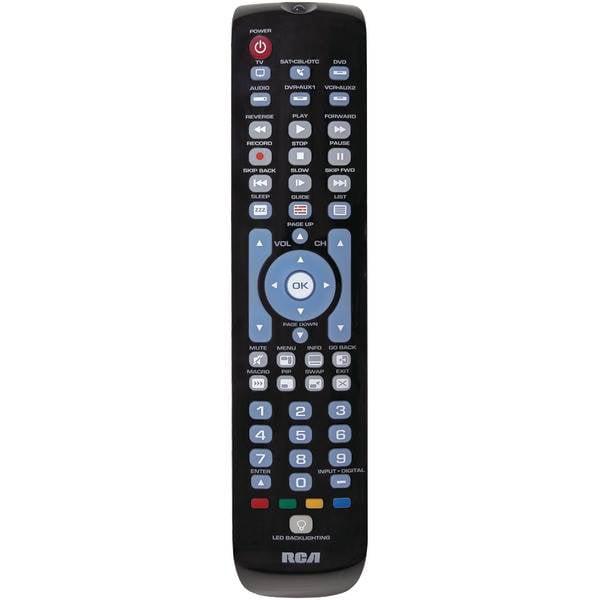 6-Device Green Backlit Universal Remote