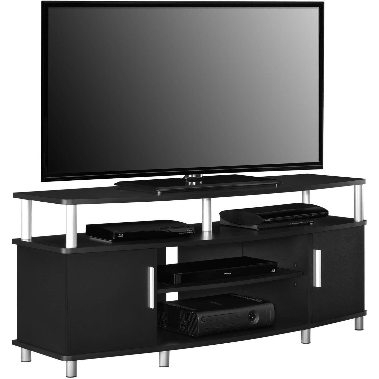Carson Tv Stand For Tvs Up To 50 Multiple Finishes Walmartcom