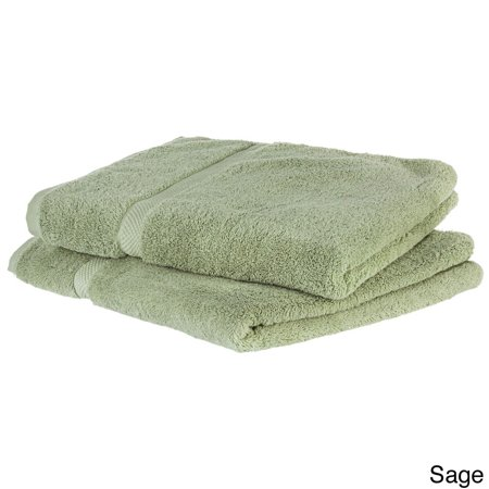 Cheer Collection Super Soft Absorbent Solid Color Bath Towels Set