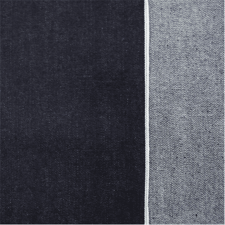 Dark Ink Blue Cotton Japanese Selvedge Denim, Fabric By the Yard
