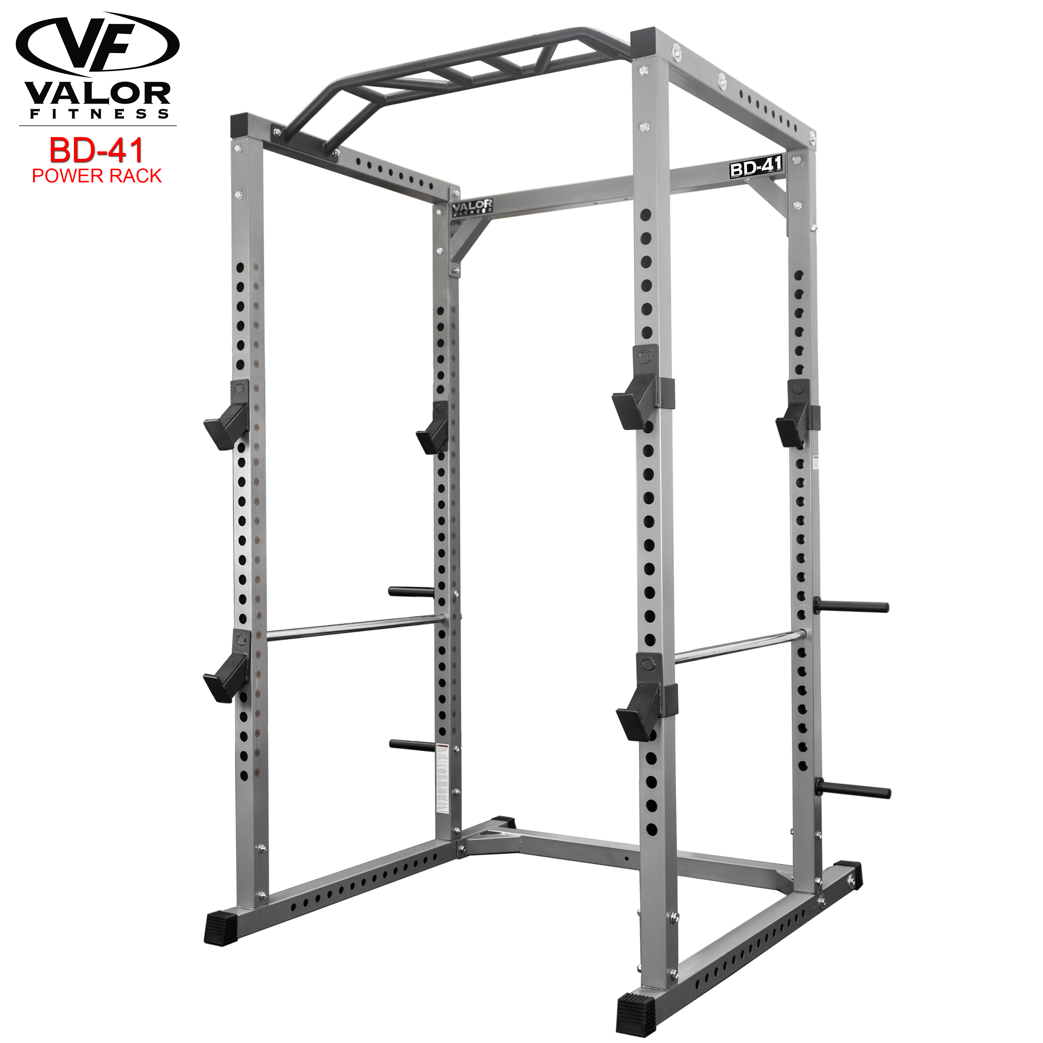 Valor Fitness Bd 41 Heavy Duty Power Cage With Band Pegs