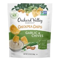 Orchard Valley Harvest Garlic & Chive Chickpea Chips, 3.75 Oz.