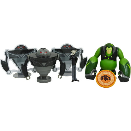 Wicked Cool Toys Wild Kratts 4-Pack Creature Power Action Figure, - Kratos Mask