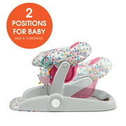 Summer Learn-to-Sit Stages 2-Position Floor Seat (Funfetti Pink)