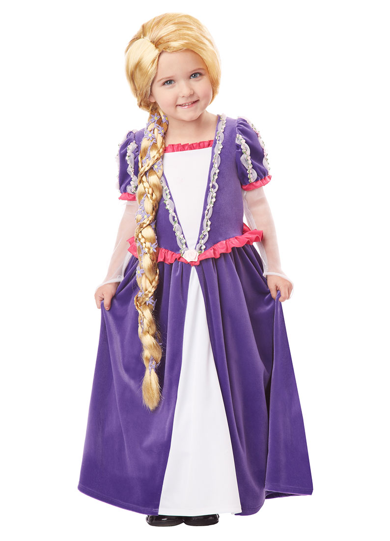 Child Rapunzel Wig by California Costumes 70736 - Walmart.com