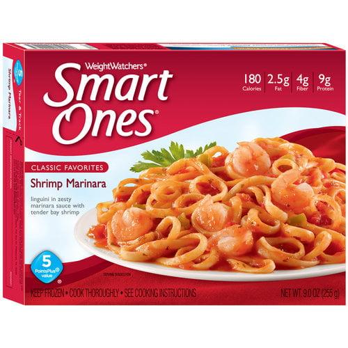 Weight Watchers Smart Ones Classic Favorites Shrimp Marinara, 9.0 OZ