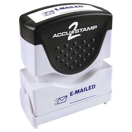 """Accustamp 2 38842  Emailed Message Stamp,  1/8"""""""
